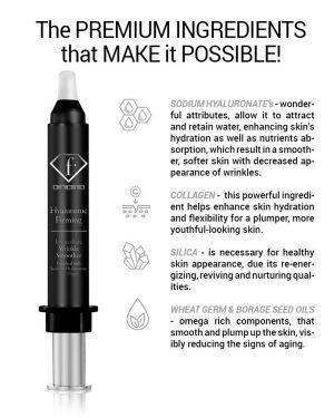 Hyaluronic Firming Wrinkle Smoother – מחליק קמטים מיידי עם חומצה היאלורונית