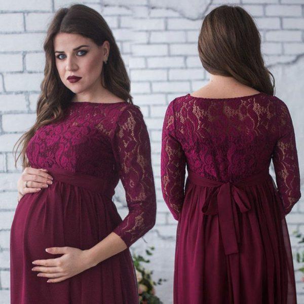 שמלת הריון סקסית יפה