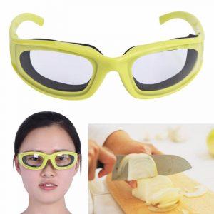 משקפי הגנה פתרון מעולה לחיתוך בצל