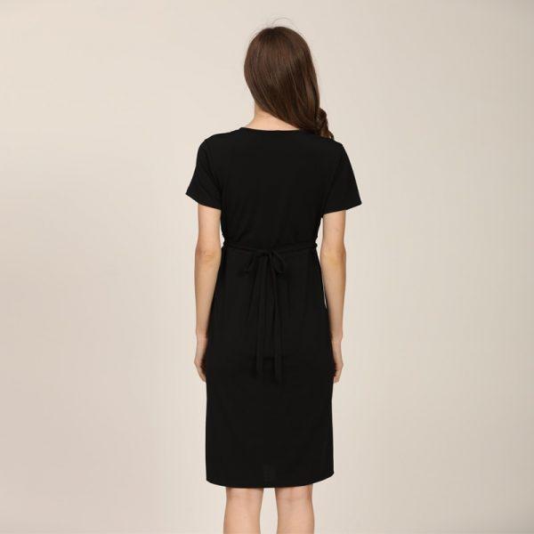 שמלת הריון הנקה בד רך