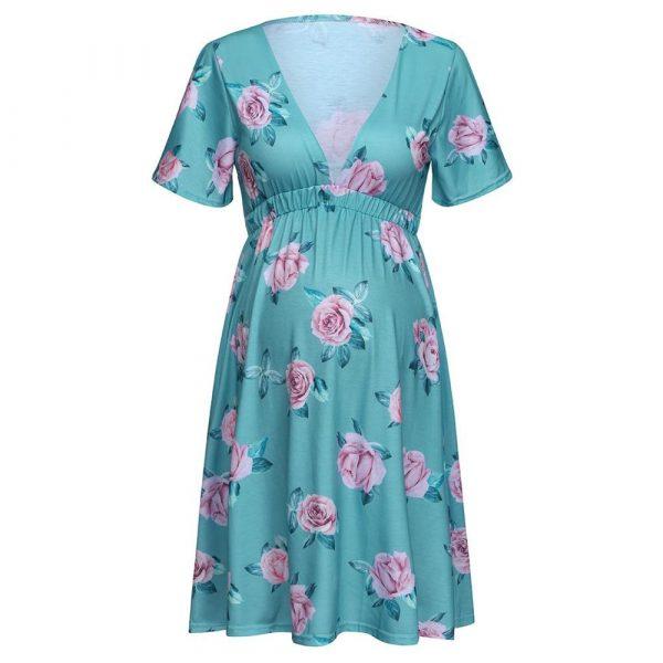 שמלת הריון פרח
