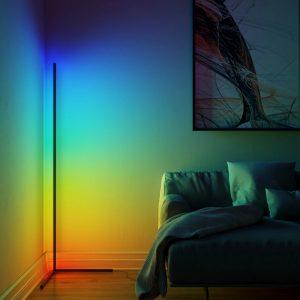 מנורת רצפה תאורת לד לעיצוב