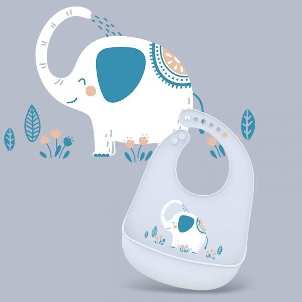סינר לתינוק מתכוונן סיליקון