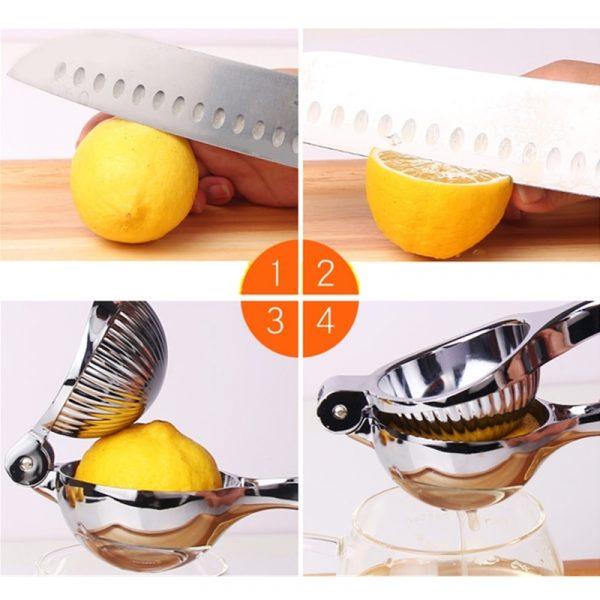סוחט לימון | פירות הדר נירוסטה ידני