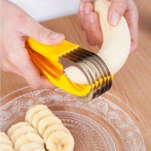 חותכן פרוסות נירוסטה בננה | מלפפון