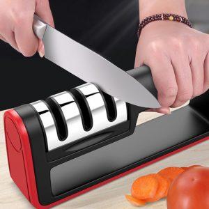 כלי לחידוד סכיני מטבח 3 שלבים מעולה