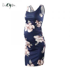 שמלות הריון פרחים | חלק