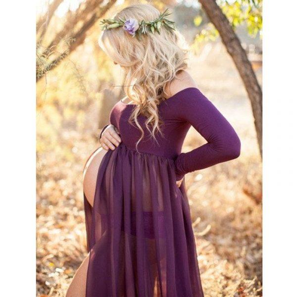 שמלת הריון שיפון צילומי ועוד