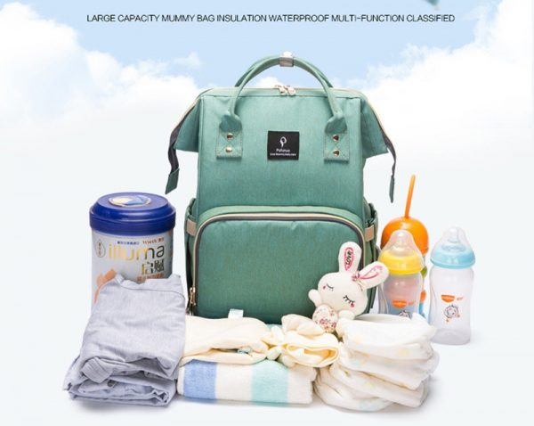 תיק אכסון לתינוקות עמיד למים מכיל המון עם יו.אס.בי
