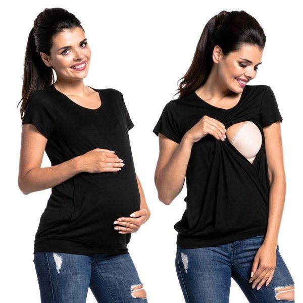 חולצת לידה הנקה מהירה נוחה
