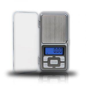 משקל דיגיטלי קטן דויק גבוה עד 200 גרם (silver)
