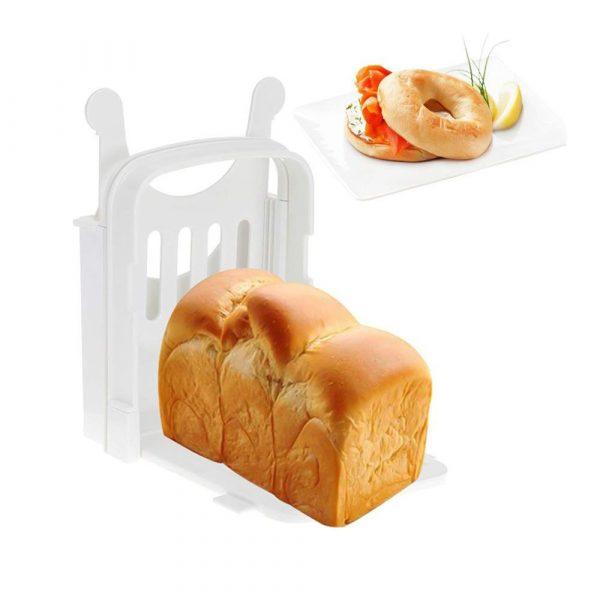 כלי נוח לחיתוך פרוסות לחם