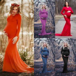 שמלת הריון צילומים מס' צבעים