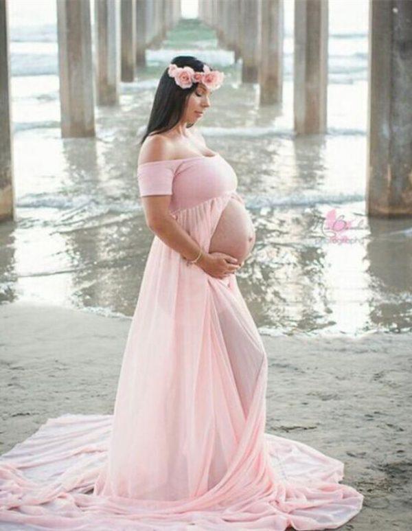 שמלת הריון סקסית מטריפה צילום מס 'אפשרות