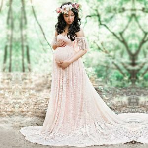 שמלת הריון ארוכה צילום ועוד