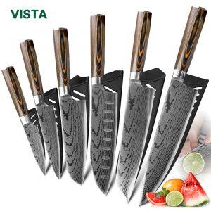 סט סכיני מטבח שף