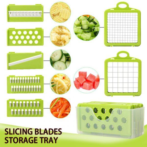 חותך ירקות מנדולינה | סלט