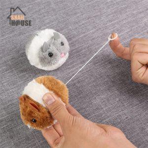 צעצועי חתולים כדור עכבר קטיפתי