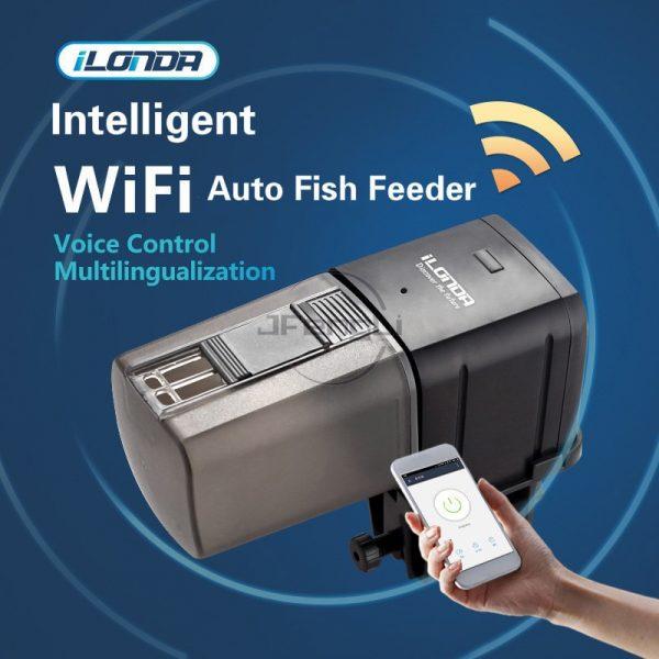 מאכיל אוטומטי לדגים WIFI