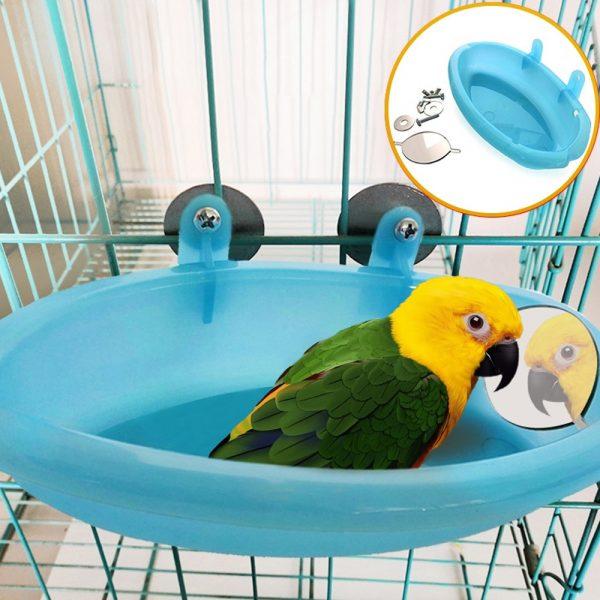 אמבטיה מקלחת לתוכים