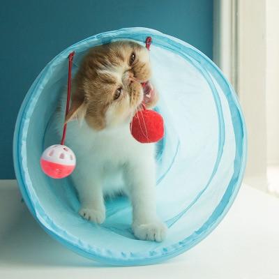 משחק מנהרה לחתול מתקפל